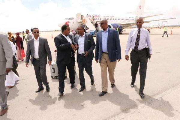 Djibouti Interior Minister Pays Visit to Somaliland Republic