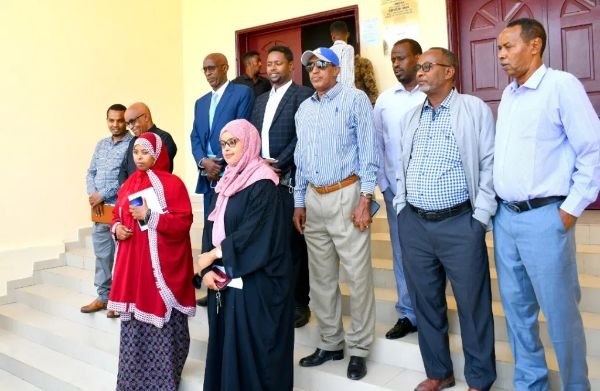 PAC sub committee questioned Somaliland Minister of Education and Science