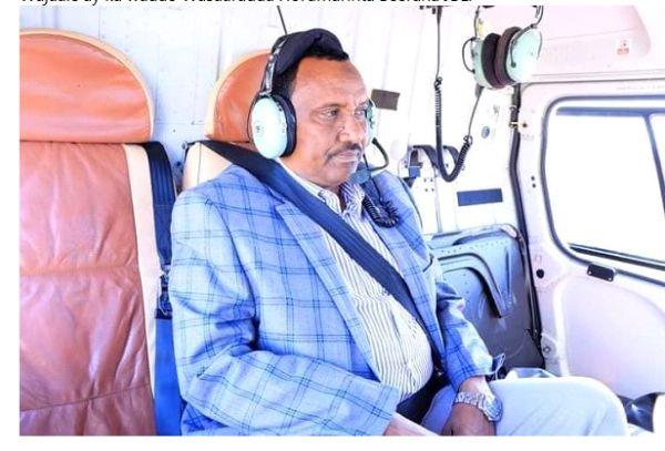 Wasiir SEED, Dhiggiisa Jabuuti Iyo Wasiirka Biyaha Somaliland Kormeer Ku Tagay Mashruuca Banka Wajaale.