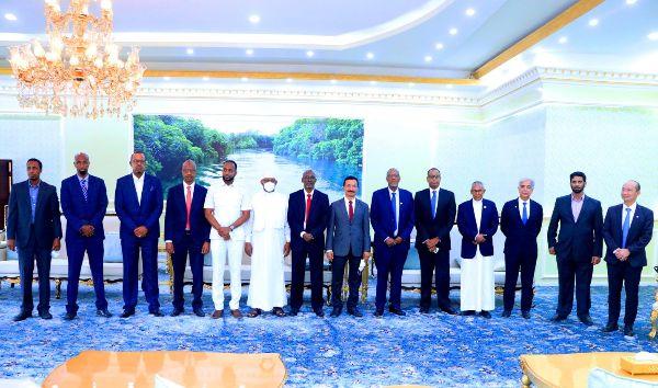 Madaxweynaha Jamhuuriyadda Somaliland oo Qaabiley Gudoomiyaha......