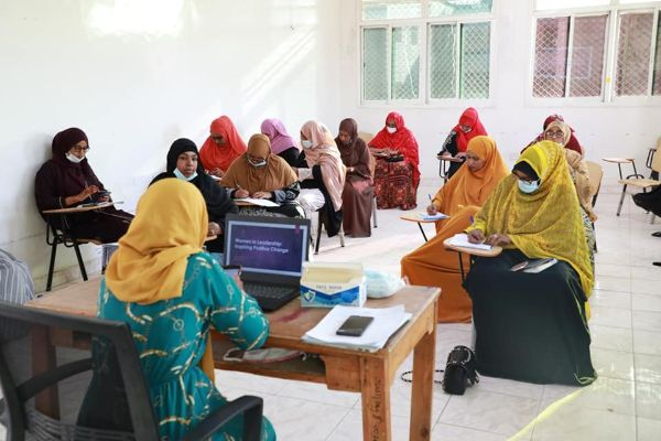 "Training on ""Women in Leadership: Inspiring a Positive Change"