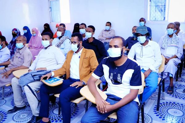 Certification Ceremony of work plan and budget allocation Training at Burao CSI
