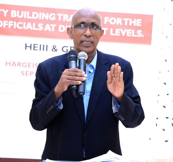 HE Ahmed Mohamed Deria (Torno), concluded training on how to strengthen the implementation of the NDP2 / ESSP National Development Plan, Education Policy, and Regulations.