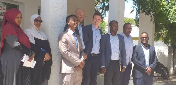 Responsible of Somaliland CommissiResponsibles of Somaliland Good Governance    Commission Meet The Better Governance Concept Worker Delegation At  head office Hargeisa Oct 10, 2021